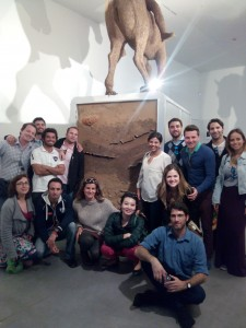 VentureLab visit to Petach Tikva Museum of Art