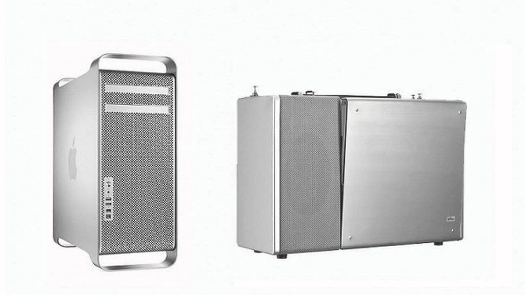 Left: Power Mac G5 (2003) Right: Braun T1000 Radio (1967)